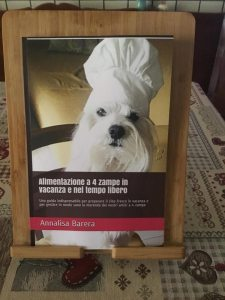 libro di ricette per cani della Dottoressa Annalisa Barera